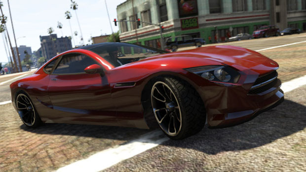 The high-end Khamelion electric car. Available in Grand Theft Auto Online as part of the Collector's Edition.