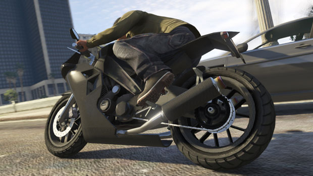 Hit the streets of Los Santos with the CarbonRS sports bike.